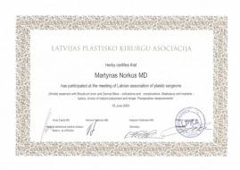 MN sertifikatas Latvija