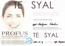 Martynas Norkus- certificate Teosyal-1